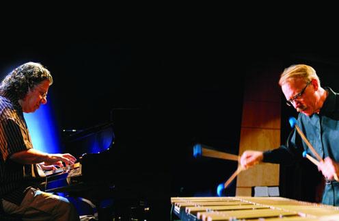 Пианист Чик Кориа и мастер игры на вибрафоне Гэри Бертон