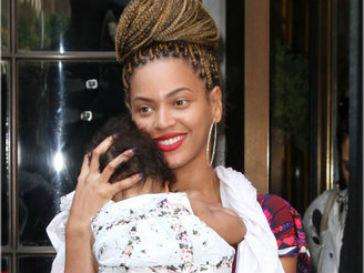 Бейонсе (Beyonce) и Блю Айви (Blue Ivy)
