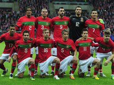 Сборная Португалии на Евро-2012.