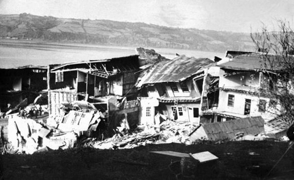 Великое Чилийское землетрясение, фото