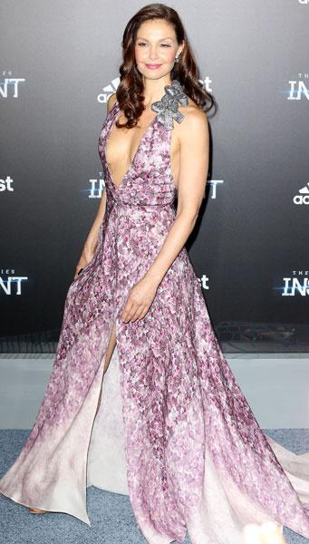 """Эшли Джадд на премьере фильма """"Инсургент"""" в Нью-Йорке"""