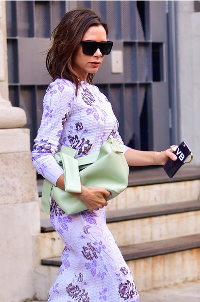 Виктория Бекхэм на Неделе моды в Нью-Йорке