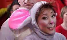 Анита Цой превратилась в мышь