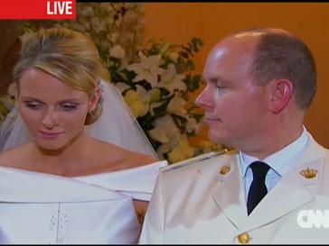 Шарлен Уиттсток, князь Альбер, свадьба в Монако
