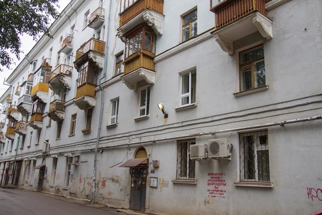 В этом доме на улице Уральской долгие годы жил Георгий Бурков