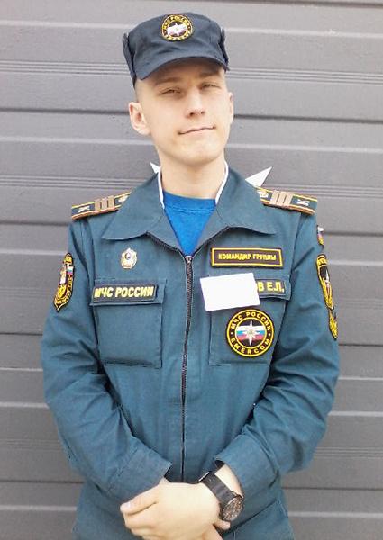 Елисей Антонов, пожарный, фото