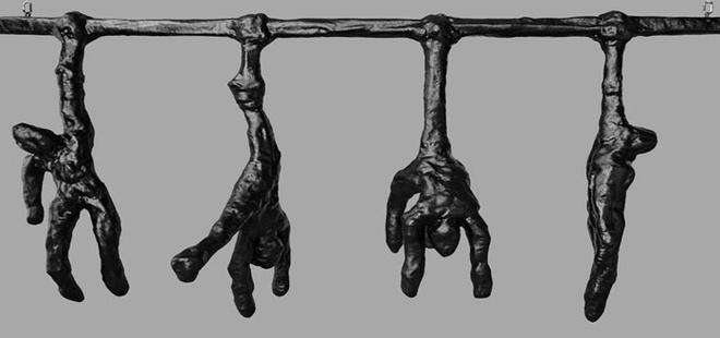 Инсталляция «Город рабов».