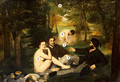 «Завтрак на траве»: о чем скандальная картина Эдуарда Мане
