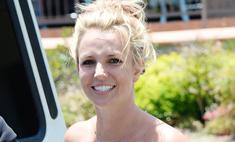 Бритни Спирс снова набрала лишний вес