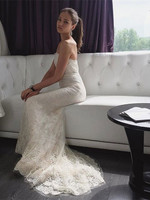 Кафельникова в свадебном платье