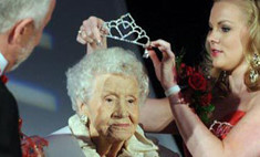 100-летняя американка стал победительницей конкурса красоты
