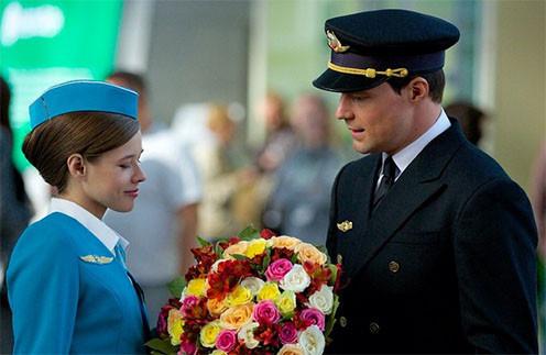 Съемки фильма «Экипаж»: Катерина Шпица