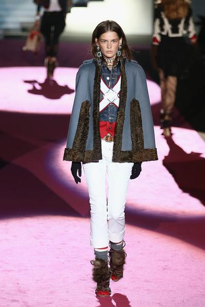Показ DSquared2 на Неделе моды в Милане | галерея [2] фото [19]