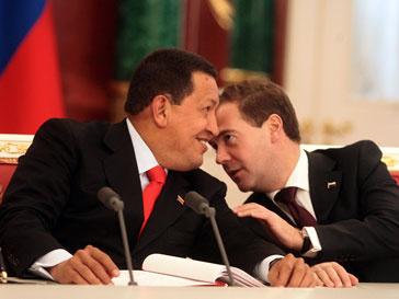 Уго Чавес, Hugo Chavez, Дмитрий Медведев