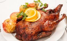Праздничная кухня: запекание гуся в рукаве