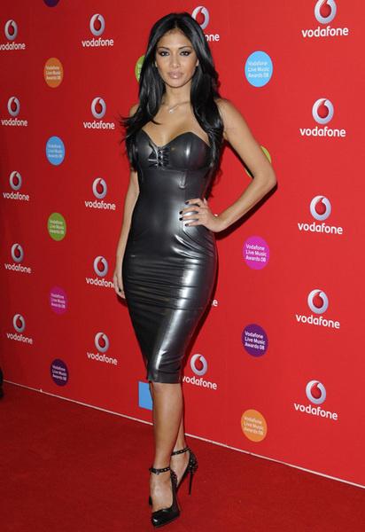 Николь на церемонии Vodafone Live Music Awards