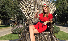 «Игра престолов»: в Краснодаре установили Трон!
