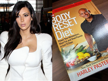 Ким Кардашьян следует советам диетолога Харли Пастернака