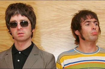 Лидеры группы Oasis братья Галлахеры