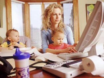 Работа на дому приводит к стрессам