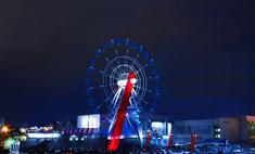 Огни большого города – с высоты чертова колеса