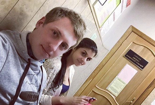 Алиана Устиненко и Евгений Руднев, фото