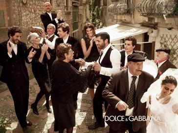 Рекламная кампания мужской коллекции Dolce & Gabbana, осень-зима 2012