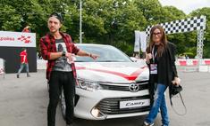 В Москве прошел тест-драйв обновленной Toyota Camry