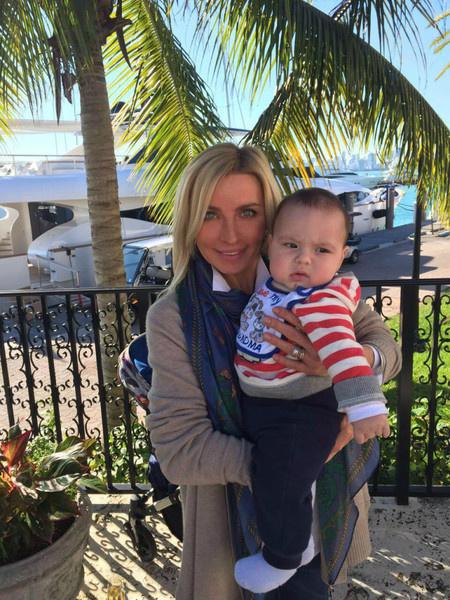 Татьяна Овсиенко с внуком фото
