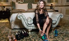 Жанна Бадоева презентовала свою первую коллекцию туфель