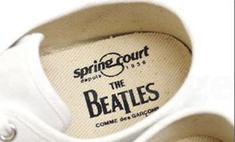 Японские модельеры выпустили кеды в честь The Beatles