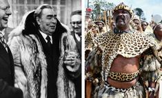 шубы вождей собрали самые роскошные одеяния мировых лидеров