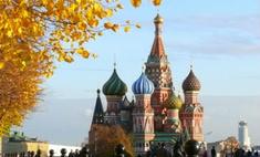 Москву ждет бабье лето