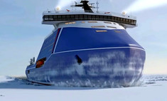 россия начнет строить самый мощный ледокол мире