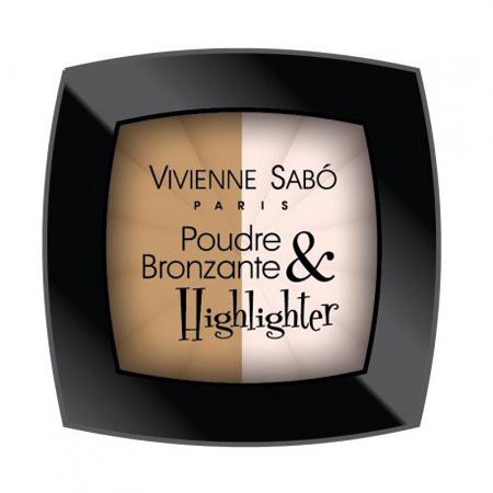 Vivienne Sabo, Бронзирующая пудра Poudre Bronzante&Highlighter, 288 рублей