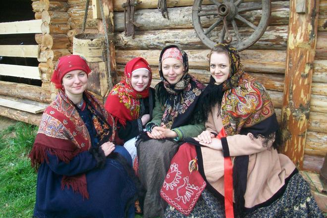 Национальный костюм: Сибирский костюм фото