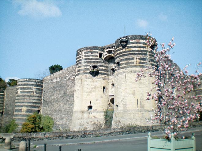 Замок-крепость в Анжере