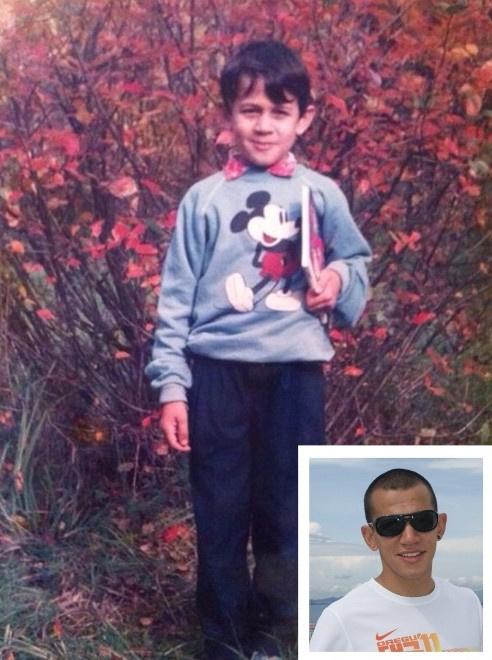 Максим Дылдин: детское фото
