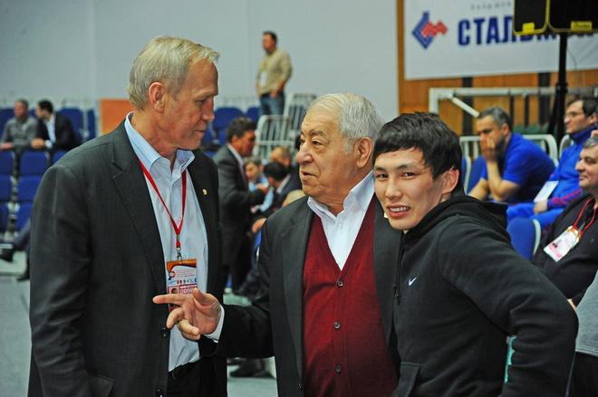 Виктор Лебедев и Дмитрий Миндиашвили