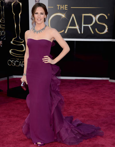 "Дженнифер Гарнер (Jennifer Garner) на премии ""Оскар""-2013"