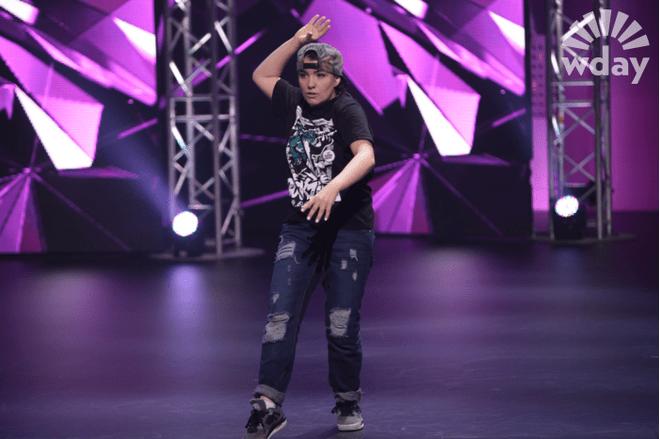 Мария Акимова - участница кастинга третьего сезона шоу «ТАНЦЫ» на ТНТ