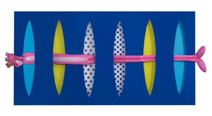 Выставка «Розовая магия» Ольги Ломака в арт-галерее VS unio