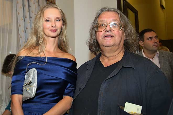 Александр Градский и Марина фото