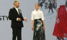 Красноярская модель упала со сцены на мастер-классе стилиста Рогова