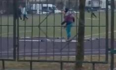 московской школе сняли детей занимающихся лыжах снега видео