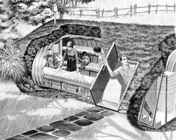 Подземные бункеры