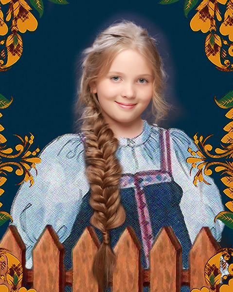 Виктория Чернецова, «Уральская краса – русская коса», фото