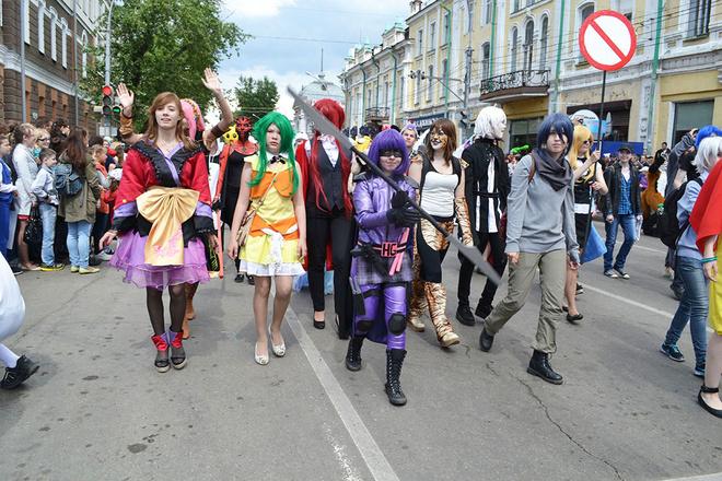 фестиваль аниме пройдет в Иркутске в последние дни лета