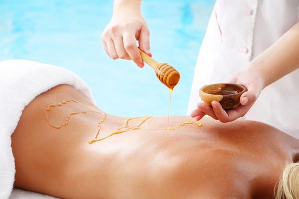 Антицеллюлитный медовый массаж