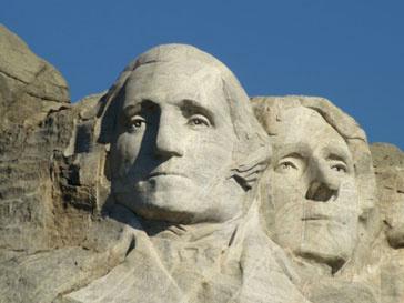В музее мадам Тюссо можно разом увидеть всех президентов США